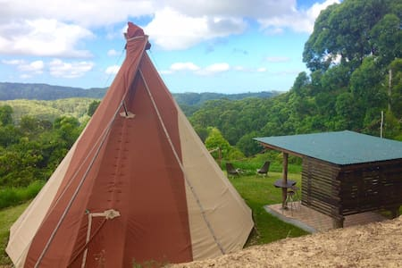Tipi, 5 Star, with incredible view - Main Arm