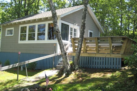 Cozy cottage on the coast of Maine! - East Boothbay - Cabane