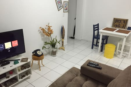 It's my new apartment, still in process of decoration :)   Cozy, ventilated and close the metro station Vila Madalena (green line).   Quiet neighborhood, with a lot of services, restaurants, bakery, pizzeria etc.   Available: Internet, Netflix.