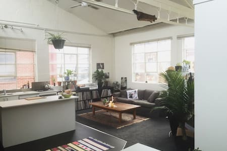 Massive Room In Converted Warehouse