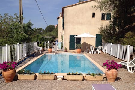 Room with access to swimmingpool - Inny