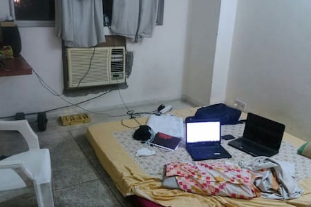 Double sharing room with AC