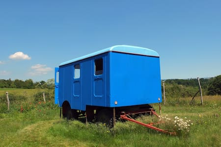 Rustic and restored Slovak trailer - Autre