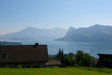 185 sqm lake view Luzern - Apartamento