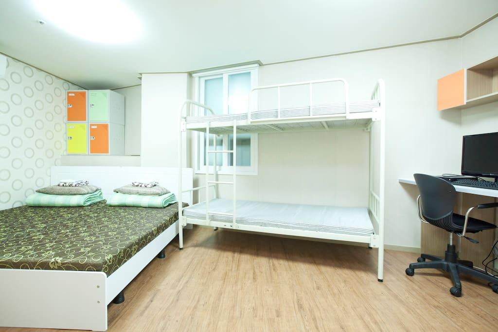 Hongdae Uncle Residence Family 4Bed