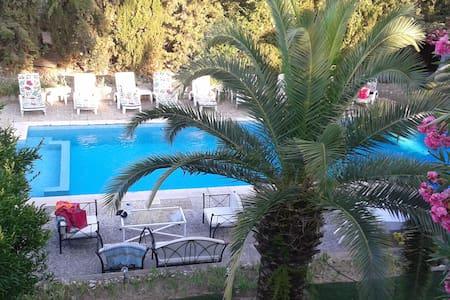 S25 chambre sdb cuisine 25m2 privé, villa lits 2+1 - Niza - Villa