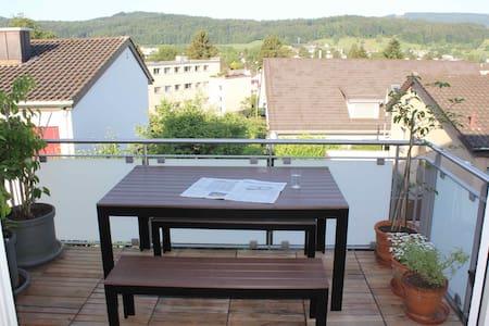 Stadtnahes Zimmer in Urdorf - Urdorf - Appartement