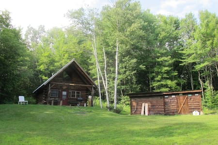 Cozy Cabin on 20 acres in Vermont - Tunbridge - Casa de campo