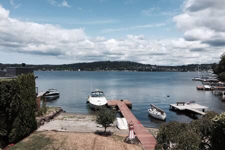 Seattle Lake Washington Water Views