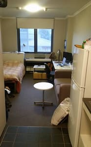 Single long studio room located in city - Dorm