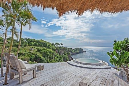 Luxury eco-loft with private beach
