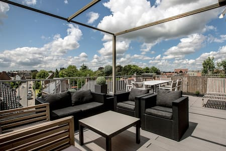 Penthouse with private roofterrace - Wohnung