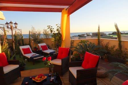 Traum-Penthouse, großes Sonnendeck mit Meerblick - Vélez-Málaga - Lejlighed