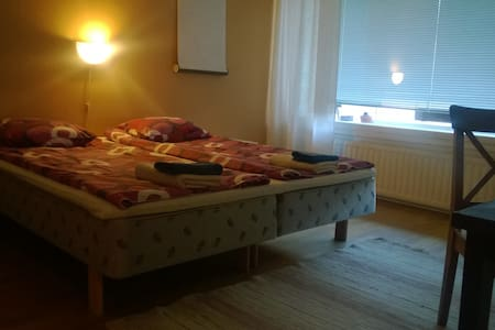 "Private room ""Aino"" well located"