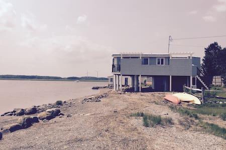 Waterfront Home Awe Inspiring Views - House