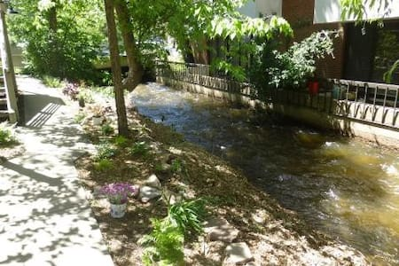 Down Town Boulder/ on the Creek