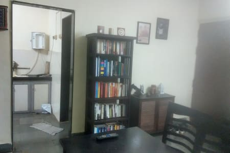 I live by myself in a nice apartment in a beautiful sub-urban location in Mumbai. There can't be a better locality to stay at. My place is neat, tidy, fully-furnished and well-connected, offering a comfortable stay to any traveler.