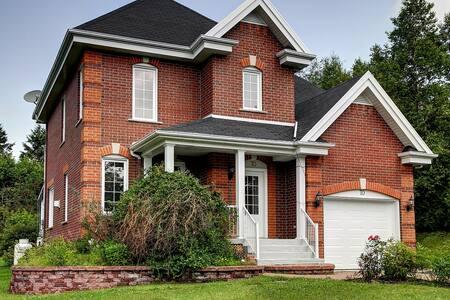 Magnifique maison à la montagne - Lac-Beauport