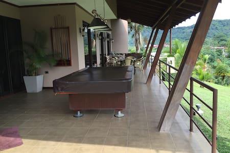 Coffe plant house luxury