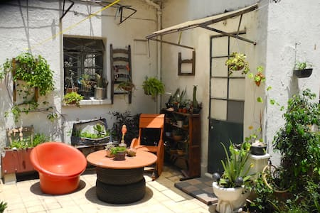 Amazing 1940's house in Roma Sur shared with internationals and locals. For traveler, student or professional people who want to rent a nice, vintage and cosy room situated in our patio wich is the heart of the house
