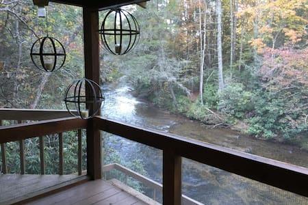 H + H Toccoa River Cabin - Kisház