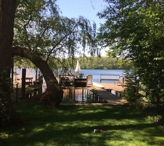 Lakehouse, private Dock, 30 min. to Downtown - Bungalow
