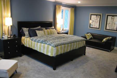 Spacious Master suite, - Dům
