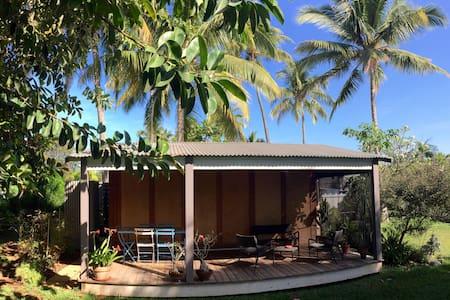 bungalow contemporain au bord du lagon - Saint-Gilles - Bungaló