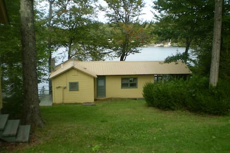 Sunapee area lakeside cottages trio on Sand Pond - Marlow - Casa