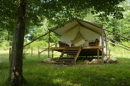 The Lee, glamping tent with deck - Teltta