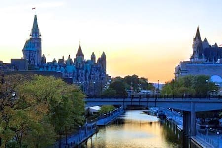 Ottawa Downtown on the Canal