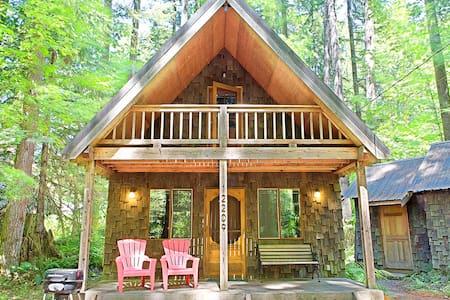 Cascadia Cabin - Skykomish - Skykomish - Blockhütte