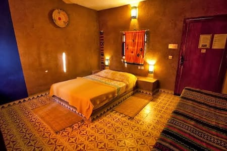 Camping Zebra, Chambre 2 - Ouzoud - Bed & Breakfast