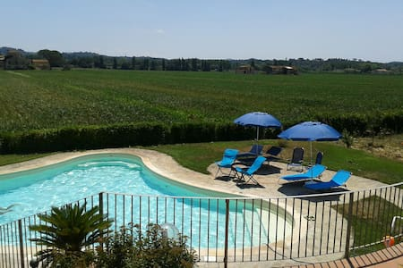 Villa2 with pool near Pisa Florence - Wohnung