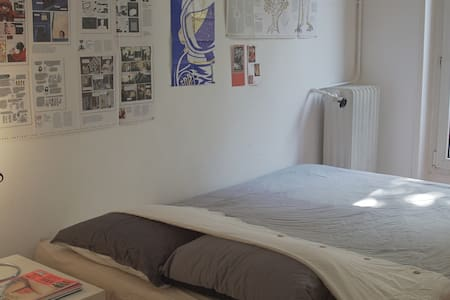 Bright room in nice neighborhood. - Appartamento
