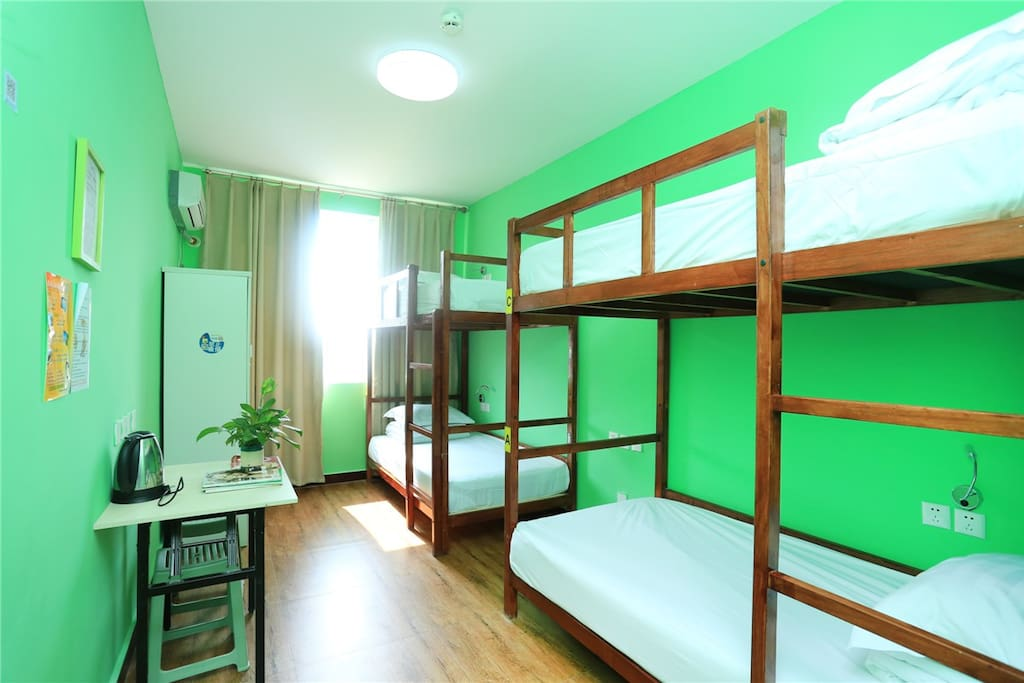Nice and Clean 4-bed Dorm