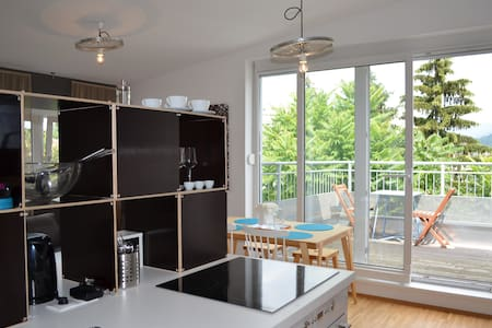 Apartment Dachterrasse Graz Lend - Çatı Katı