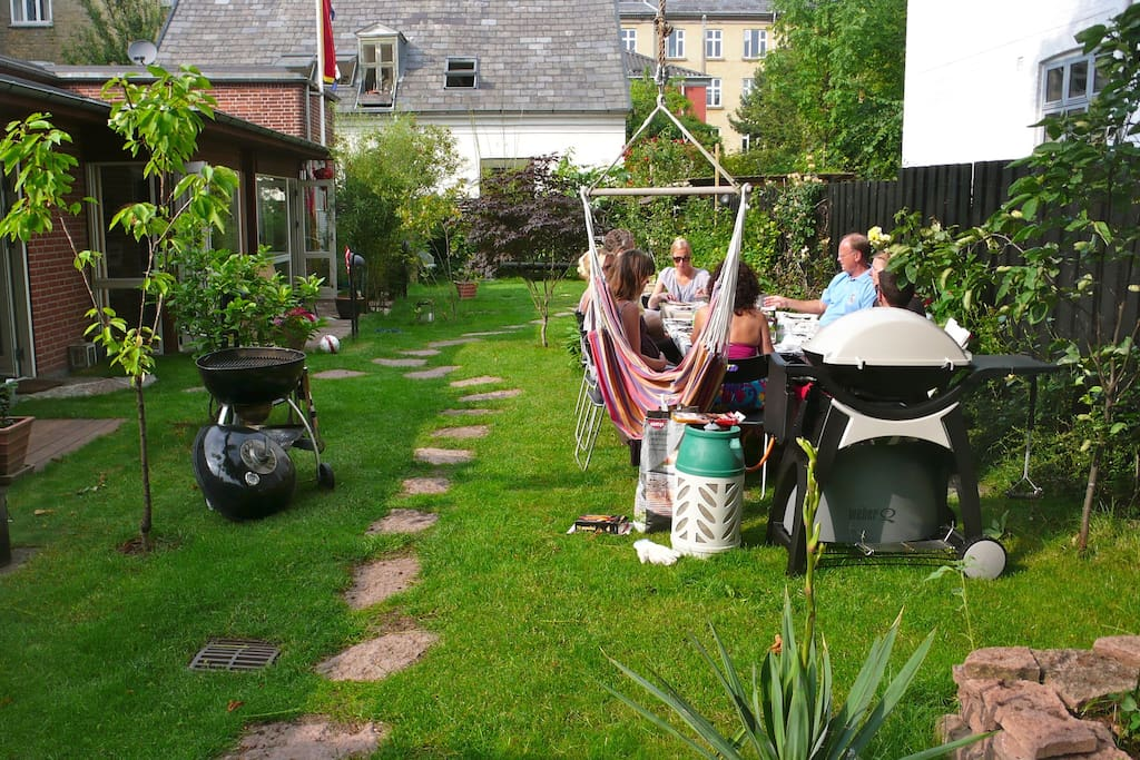 Shared garden and grill