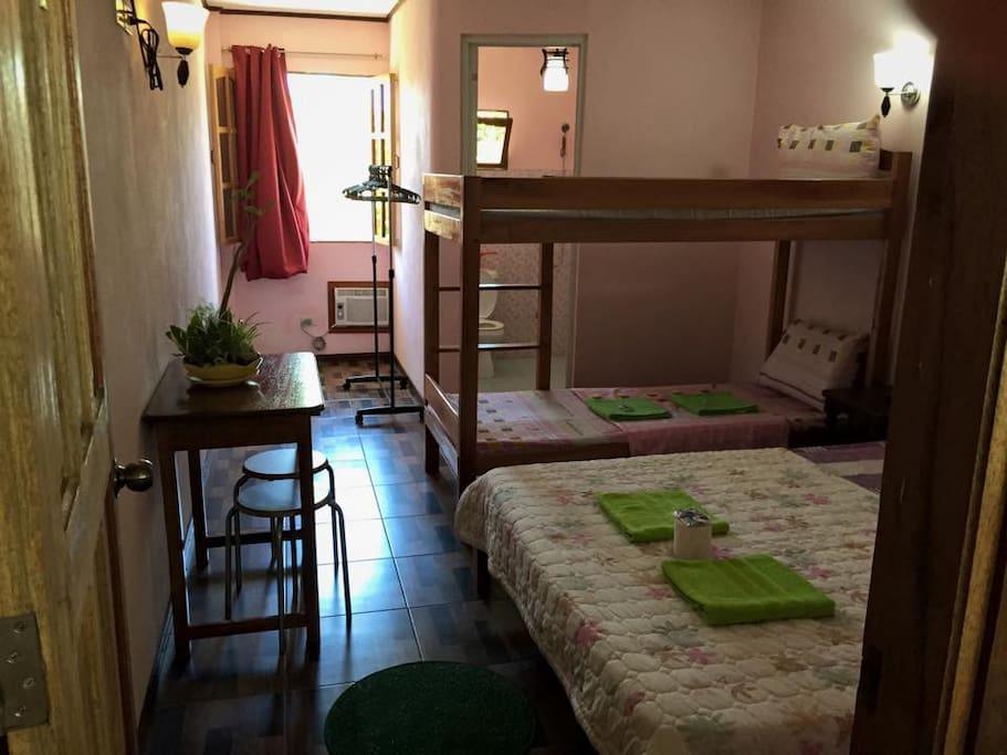 Room 4; 2 pax: P900.00; 4 pax: P1500.00