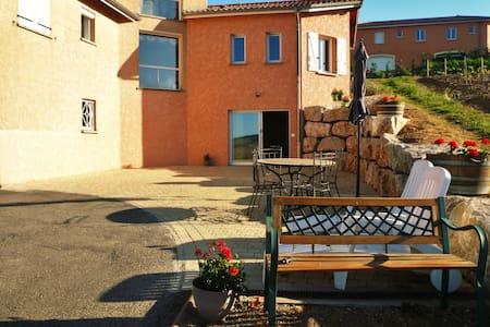Studio Chocolat Pistache 1-6 places - Vaux-en-Beaujolais - Hus