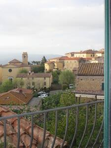 Panoramico in tipico borgo toscano - Appartement