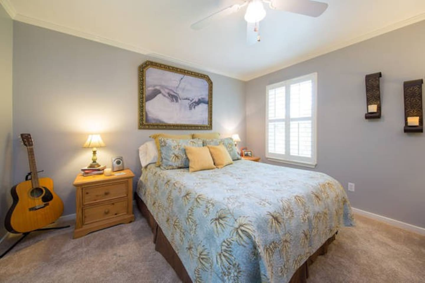 This is the master bedroom of the home,