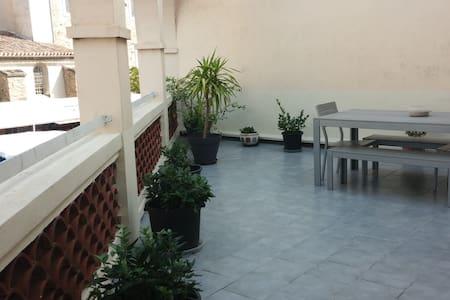 T4 Centre Réalmont - Terrasse panoramique - Apartment