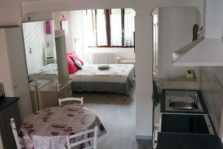 Studio 40 m², cour et jardin - Guebwiller - Apartment