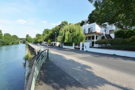 1 chbre luxe dans villa vue Marne - Champigny-sur-Marne - Villa