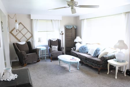 Blue Cottage Vacation Rental - Challis - Casa