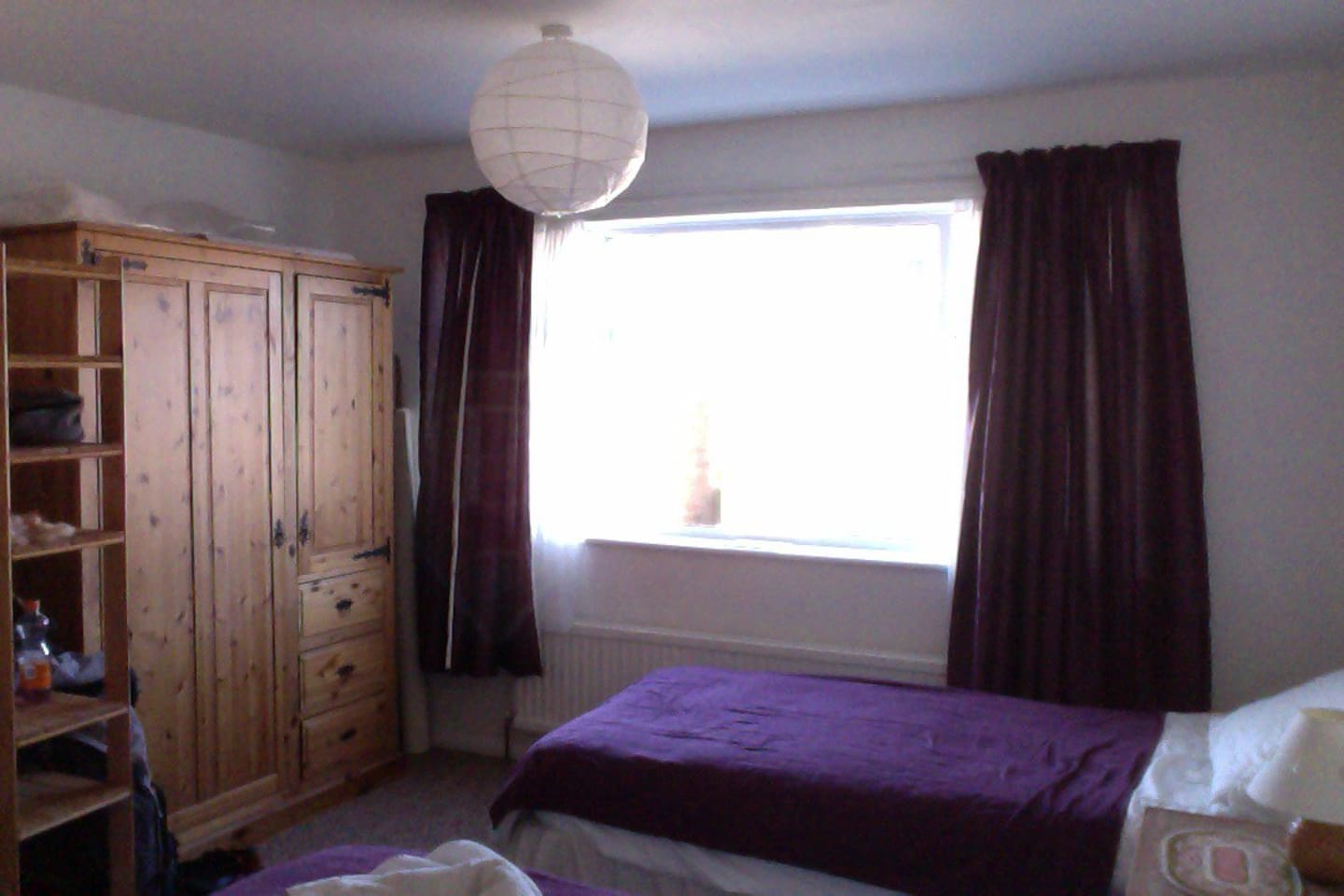 Lovely, airy en suite double room.