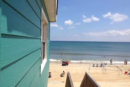 Affordable Oceanfront Beach Box! - Kitty Hawk - 一軒家