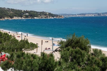 Nice flat on beach, perfect seaview - Platja d'Aro - Apartament