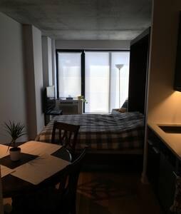 Cozy studio in heart of Montreal